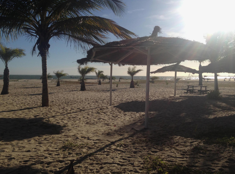 An empty beach at Cape Point beckons sunseekers.
