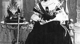 La reine Ranavalona III qui a régné sur Madagascar à la fin du XIXe siècle.