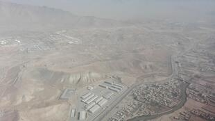 Kabul seen from the area