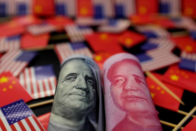 美元與人民幣資料圖片