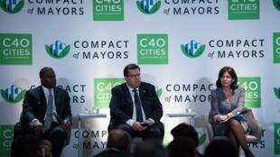 Os prefeitos de Atlanta, Kasim Reed, de Montreal, Denis Coderre, e Paris, Anne Hidalgo, estão entre os signatários da carta ao G20.