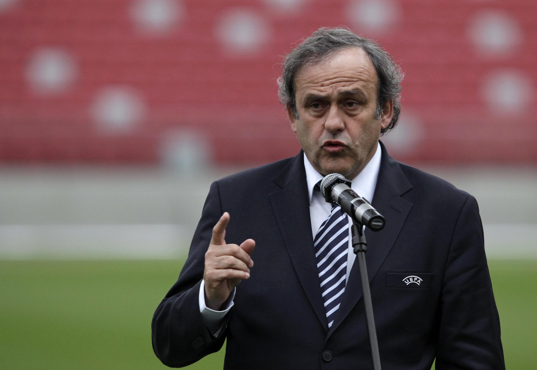 میشل پلاتینی رییس اتحادیۀ باشگاه های فوتبال اروپا