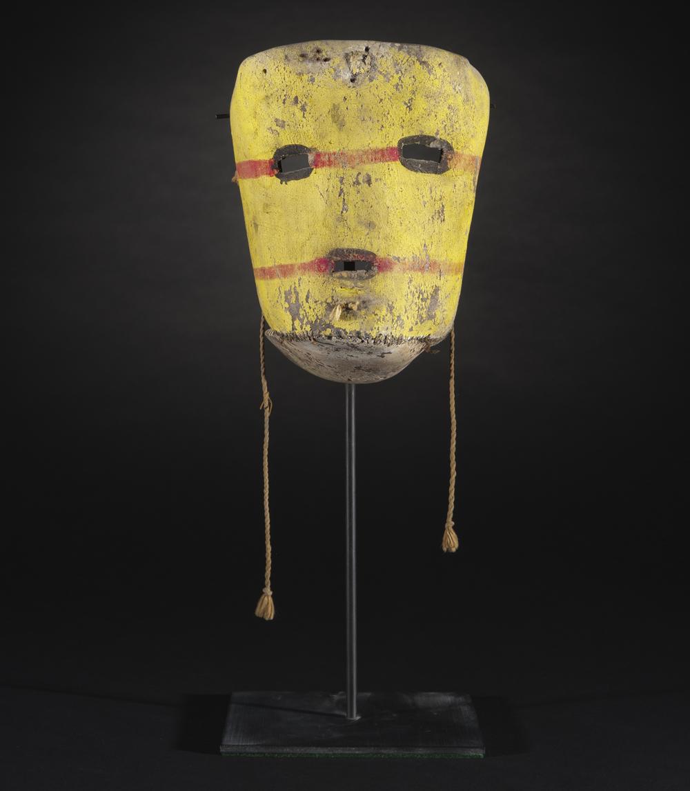 Tsuku mask from the Hopi tribe, Arizona, 1900.
