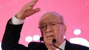 Lors d'un meeting de campagne, ce 15 décembre 2014, le candidat Beji Caid Essebsi a fait de la lutte contre le terrorisme une de ses priorités pour les cinq années à venir, s'il est élu.