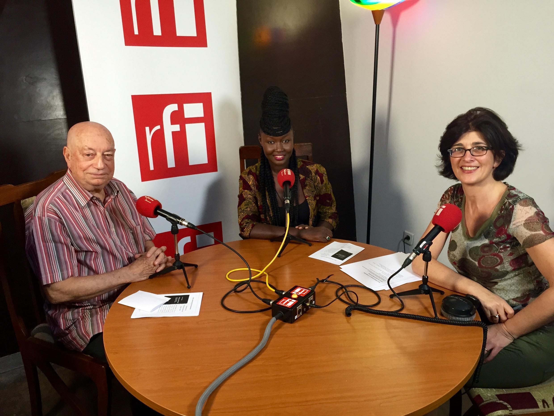 Hervé Bourges, Marema, Nathalie Amar. Dakar 2014.