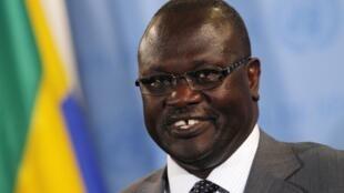 Riek Machar, l'ancien vice-président du Soudan du Sud entré en dissidence. Ici à New York en 2012.