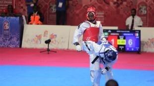 Le taekwondo, sport de plus en plus pratiqué sur le continent africain.