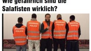 Le journal allemand «Bild» a révélé, le 5 septembre, l'existence de cette police de la charia.