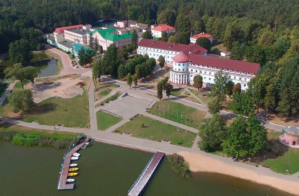 Cанатории «Белорусочка» под Минском, где 29 июля произошло задержание 32 человек, которых белорусские власти обвинили в подготовке терактов