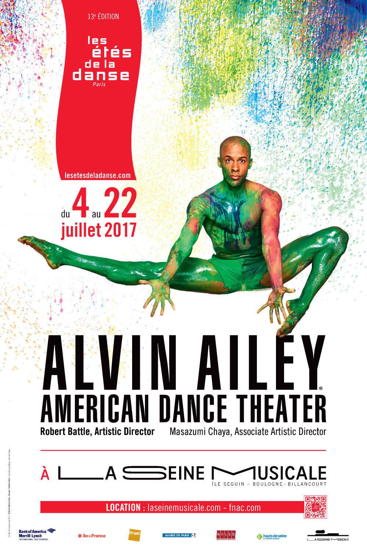Affiche de l'édition 2017 des étés de la danse.