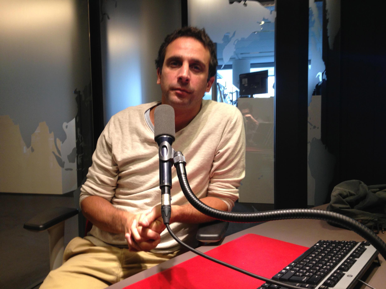 William Daniels dans le studio de RFI.