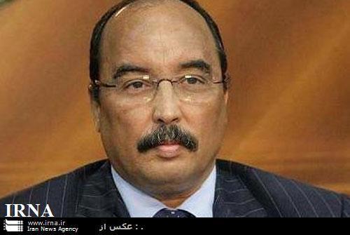 El presidente mauritano, Mohamed Ould Abdel Aziz
