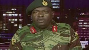 """ژنرال """"سیبوسیسو مویو""""  از فرماندهان ارتش زیمبابوه"""