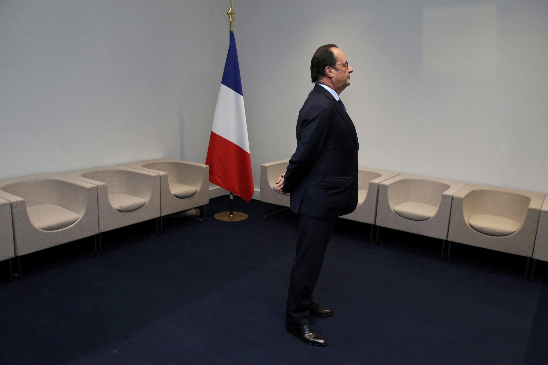 François Hollande a 30 de Novembro de 2015.