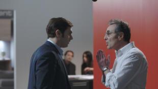 «Vendeur», de Sylvain Desclous avec Pio Marmai (à gauche) et Gilbert Melki.