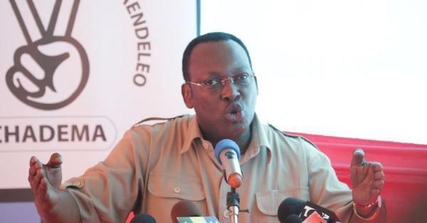 Mwenyekiti wa chama Kikuu cha upinzani Tanzania, Chadema, Freeman Mbowe