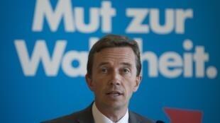 Le leader du parti Alternative für Deutschland, Bernd Lucke.