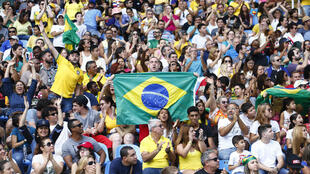 Le public a répondu présent ce week-end à Rio.