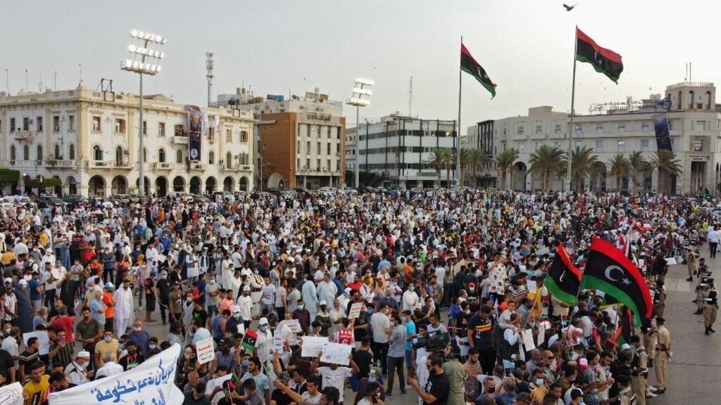 Libye : manifestations de soutien au gouvernement d'Abdel Hamid Dbeibah