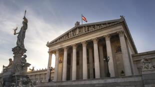 Le Parlement autrichien.