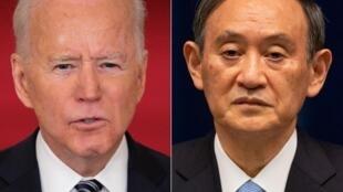 El presidente de EEUU, Joe Biden, se reúne este viernes en Washington con el primer ministro japonés Yoshihide Suga en su primera cumbre bilateral