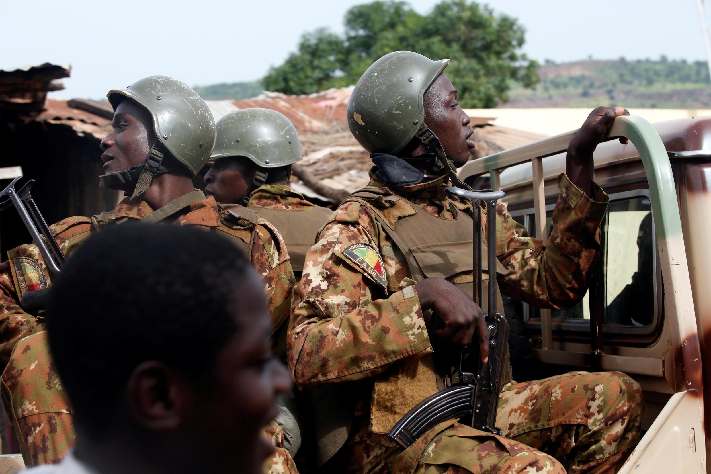Soldats maliens, juillet 2018, Bamako (illustration).