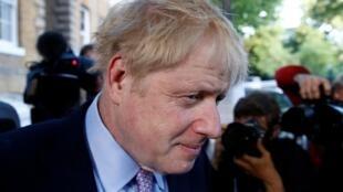 Boris Johnson está com um pé no 10 Downing Street.