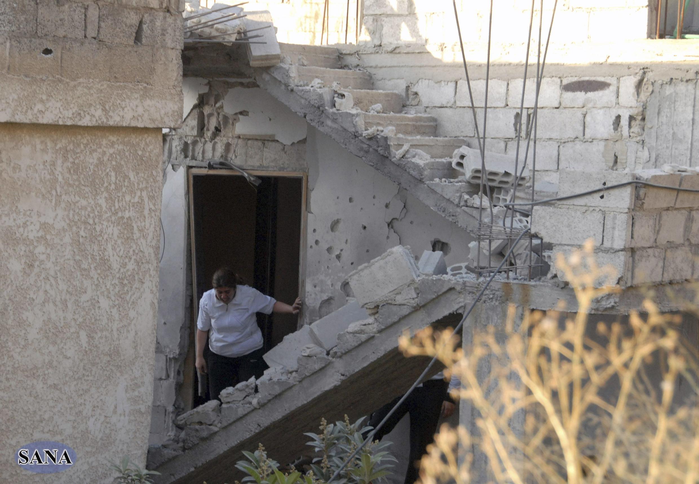 Des attaques se sont déroulées dans le quartier de Mazzé, à Damas, visant la minorité alaouite.