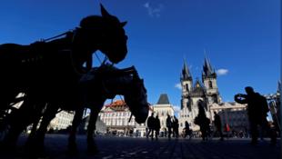 Столица Чехии Прага 7 ноября 2019 года