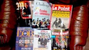 Capas dos semanários e magazines franceses de 19/12/15