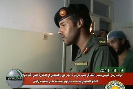 Хамис Каддафи. Август 2011 (архив)