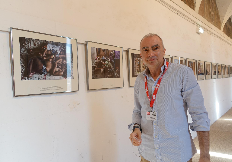 """Peter Bauza, autor de """"Copacabana Palace""""."""