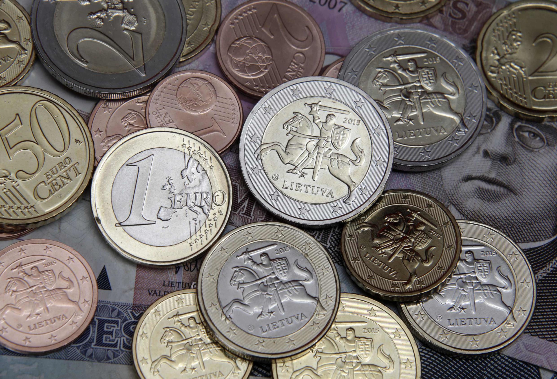 Литовские монеты евро