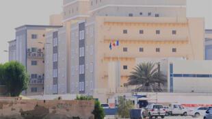 Le consulat français de Djeddah en Arabie saoudite ce jeudi 29 octobre 2020, où a eu lieu l'attaque au couteau d'un vigile.