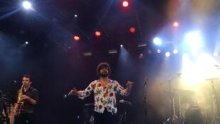 Le groupe Mazalda au festival Roskilde.