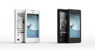 O Yotaphone, primeiro telefone da empresa russa Yota Devices