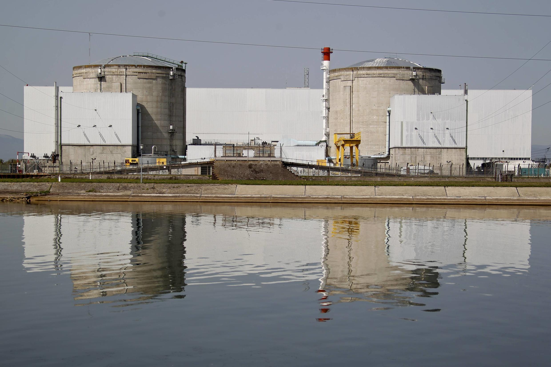 Central nuclear de Fessenheim, Francia.