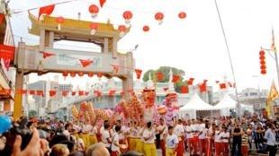 Le China Town Food & Cultural Festival en 2015.