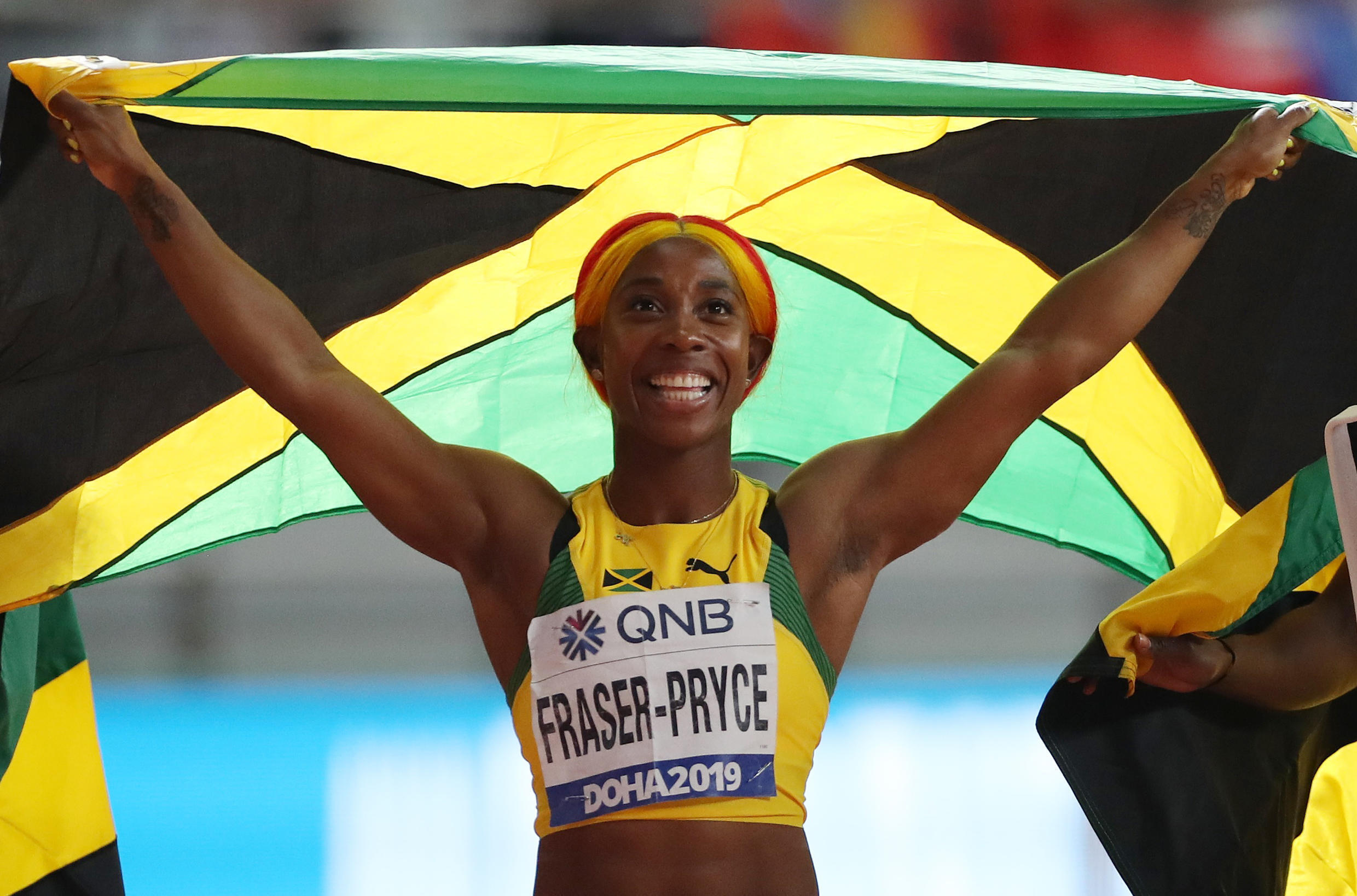 Shelly-Ann Fraser-Pryce was one of the standout performers at the 2019 championships with two gold medals after returning from having her first child.
