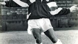 Dale Mulholland à l'entraînement en URSS en 1989.