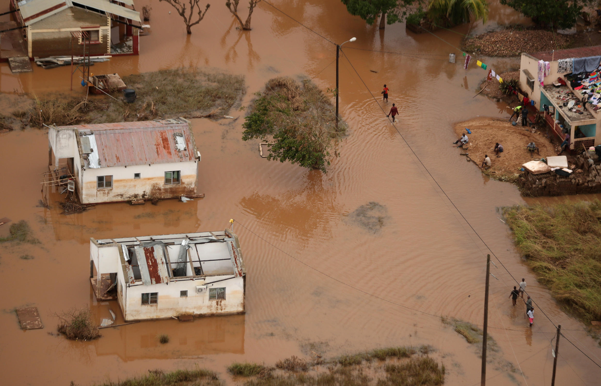 Cyclone Idai hit Mozambique eight days ago. The death toll in the country has risen to 417 but thousands more missing.