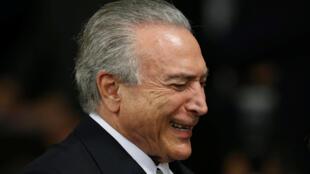Michel Temer,Shugaban kasar Brazil