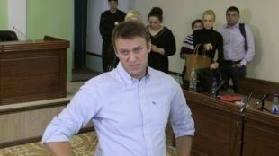Le parquet a requis dix ans de camp contre l'opposant russe Alexeï Navalny.