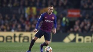 Dan wasan Barcelona Arthur Melo