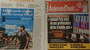 Diários franceses   22 10 2020