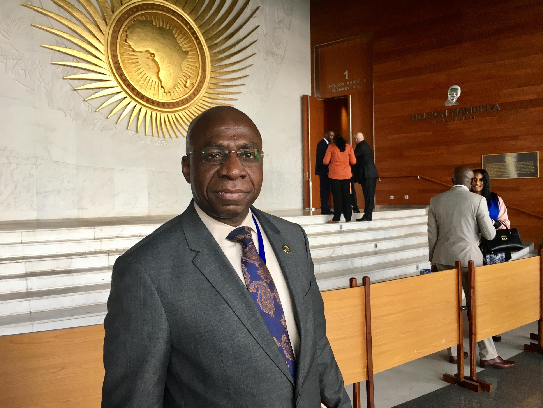 António Téte, representante permanente da União Africana junto das Nações Unidas