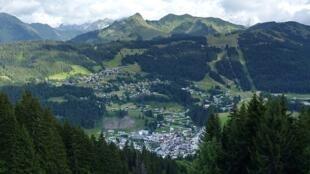 Les Gets, Haute-Savoie, France