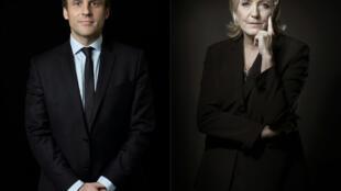 En cas d'élection, quelles seront les politiques africaines d'Emmanuel Macron et Marine Le Pen ?
