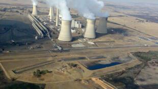 Eskom power station in South Africa