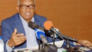 Antigo Presidente de São Tomé e Príncipe, Miguel Trovoada.